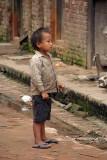 Little Boy in a Lane Bhaktapur