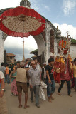 Effigy and Umbrella Pancha Dan