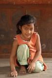 Little Girl in Bhaktapur
