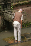 Man at Hiti Bhaktapur