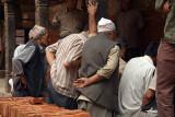 Men Watching Card Game Bhaktapur