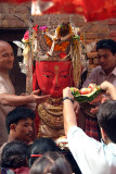 Man with Offerings at Pancha Dan