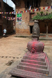 Annointed Stupa in Bhaktapur