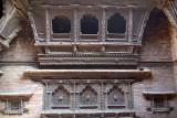 Carved Windows in Courtyard Bhaktapur