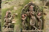 Carvings or Krishna and Ganesha Bhaktapur