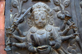 Detail on Temple Door Bhaktapur
