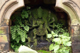 Overgrown Statue Bhaktapur
