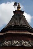 Roof of Shiva Shrine