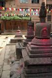 Stupas in a Square Bhaktapur