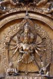 Taleju on Torana Golden Gate Bhaktapur