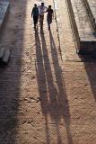 Three Men and Their Shadows Durbar Square