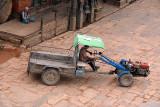 Tractor in Taumadhi Tol Bhaktapur