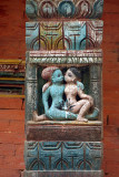 Erotic Carving at Chobar Temple