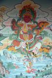 Painting on Monastery Wall Pharping 02