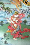 Painting on Monastery Wall Pharping 03