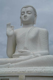 White Budha Statue at Mihintale