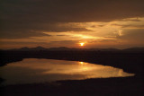 Sunset at Kaudulla National Park