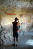Photographing the Frescoes Sigriya