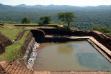 Tank on top of Sigriya Rock