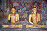 Statues and Paintings Dambulla 04