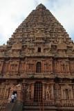 Brihadeeswarar Temple from side