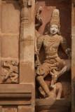 Carving at Brihadeeswarar Temple