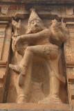 Detail on Gopuram at Brihadeeswarar Temple