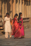 Girls at Brihadeeswarar Temple