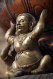Metal Figure in grounds of Brihadeeswarar Temple