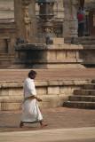 Brahmin at Brihadeeswarar Temple