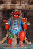 Colourful Figure at Brihadeeswarar Temple