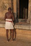 Pilgrim at Brihadeeswarar Temple 02