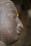 Face of Figure on Pillar Sri Ranganathaswamy Temple