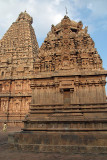 Shrine and back of Brihadeeswarar Temple