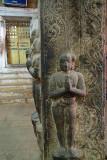 Figures Carved on Pillar Sri Ranganathaswamy Temple