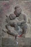 Kissing Figures on Pillar Sri Ranganathaswamy Temple