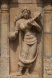 Statue of Buxom Woman Sri Ranganathaswamy Temple