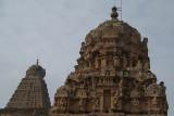 Temple Tops at Brihadeeswarar Temple