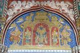 Wall Painting at Royal Palace Tanjore