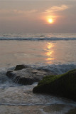 Sunset on the Rocks Varkala