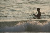Fisherman Wading Varkala