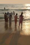 Holding Hands at the Seaside Varkala
