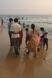 Indian Families at Varkala