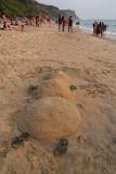 Christmas Sand Man Varkala