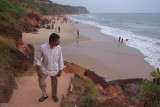End of the Day at Varkala Beach