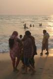 Indian Girls at Varkala Beach 02