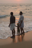 Two Men and a Baby Varkala