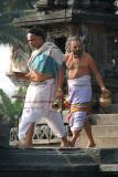 Brahmin Leaving Chennakesava Temple Belur
