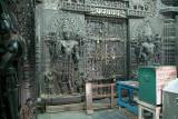 Carved Interior Chennakesava Temple Belur