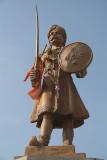 Statue of Warrior Belur